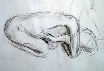 Gesture drawings – Mockingbirds at midnight