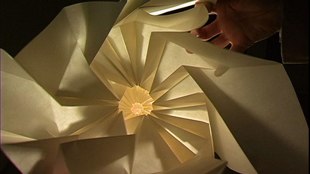 Between the Folds-film about origami