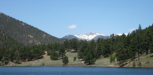 Lilly Lake near Estes Park, Colorado
