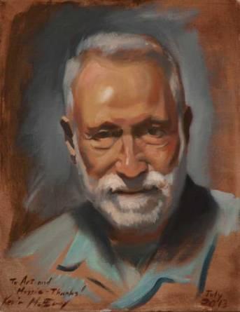 Portrait by Kevin McEvoy