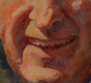 Painting teeth