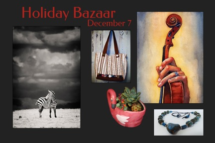 Holiday Bazaar flyer
