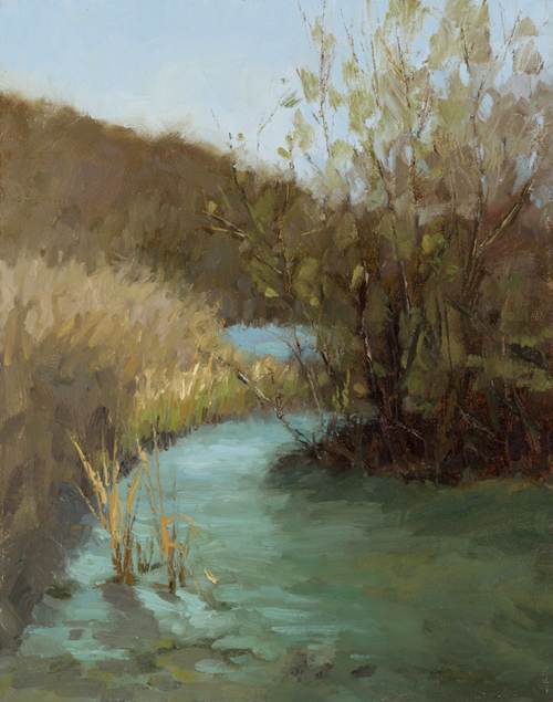 painting of Coyote Creek