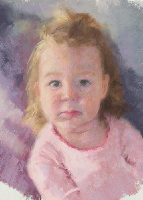 Innocence Pastel © 2014 Cynthia Riordan