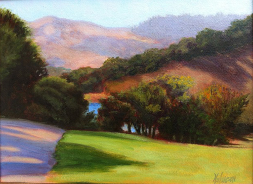 Foothill Park Oil on canvas © Denise Natanson-Marcus
