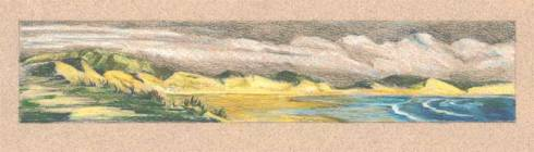 Drawing of Doughmore Beach