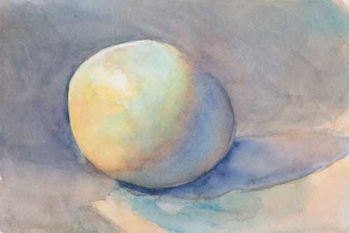 Egg 5 Watercolor on #300 Arches hot press