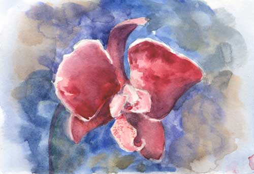December 31, 2014 Watercolor on #140 Arches