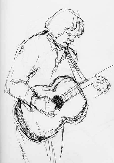 Sketch of Beppe Gambetta