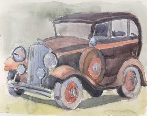 Touring car
